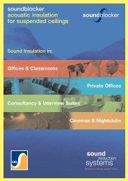soundblocker acoustic insulation for suspended ceilings soundblocker