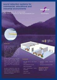 Soundbar 53 Brochure - Sound Reduction Systems Ltd.