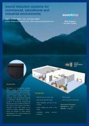 Soundstop Brochure - Sound Reduction Systems Ltd.