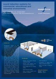 Soundblocker Brochure - Sound Reduction Systems Ltd.