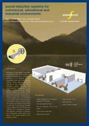 Soundseal Brochure - Sound Reduction Systems Ltd.