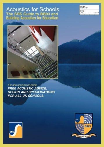 Acoustics for Schools