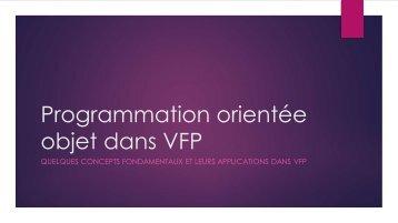 Programmation orientée objet dans VFP