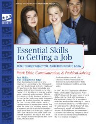Essential Skills to Getting a Job
