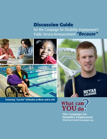 """Discussion Guide """"Because"""""""