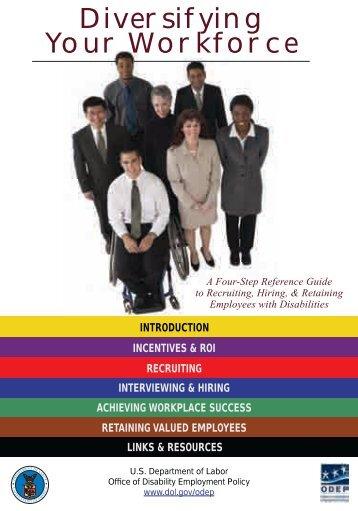 Diversifying Your Workforce