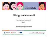 Wstęp do biometrii
