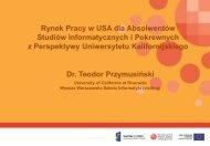 Slajd 1 - Warszawska Wyższa Szkoła Informatyki