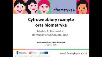 ínfurmatyka+ - Warszawska Wyższa Szkoła Informatyki
