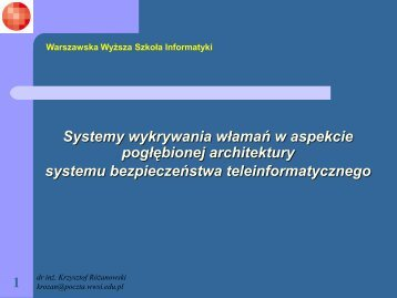 10 - Warszawska Wyższa Szkoła Informatyki