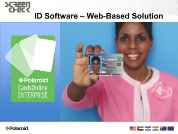 ID Software – Web-Based Solution