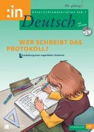Deutsch - Protokoll