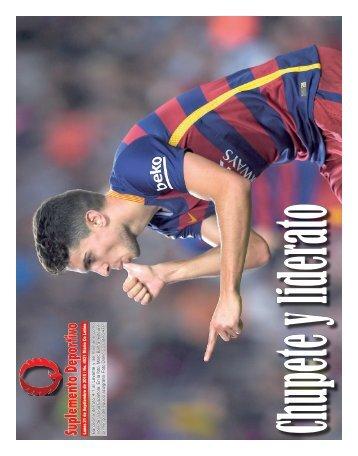 Suplemento Deportivo 21 de Septiembre de 2015