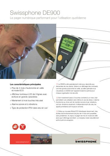Fiche technique - Swissphone