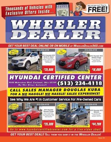 Wheeler Dealer 39-2015