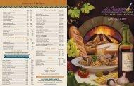 Catering • À La Carte