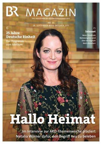 BR-Magazin 20/2015