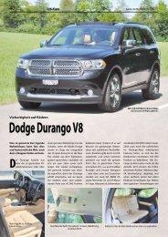 Dodge Durango V8