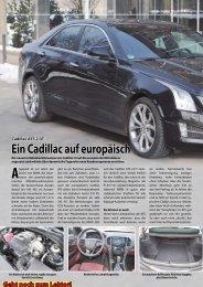 Ein Cadillac auf europäisch
