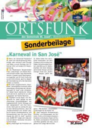 Sonderbeilage - St. Josef