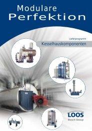 Modulare Perfektion Lieferprogramm Kesselhauskomponenten