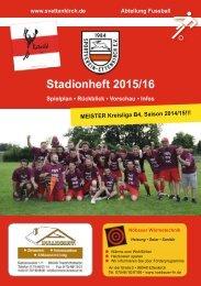 Stadionheft 2015/2016