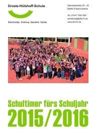 Schultimer 2015/2016