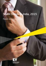 Talent trends in India 2015