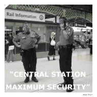 """""""CENTRAL STATION MAXIMUM SECURITY"""""""