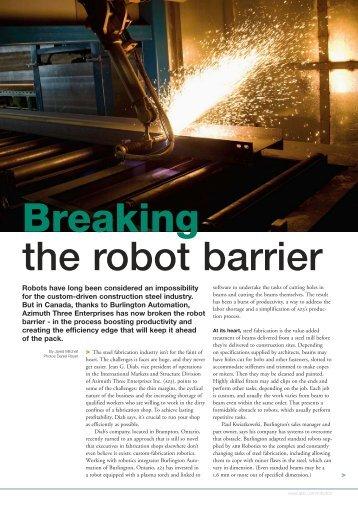 the robot barrier