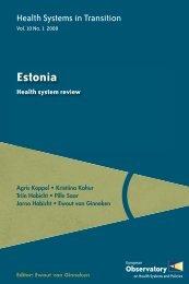 Health Systems in transition - Estonia - World Health Organization ...