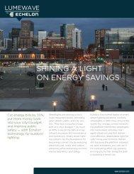 SHINING A LIGHT ON ENERGY SAVINGS