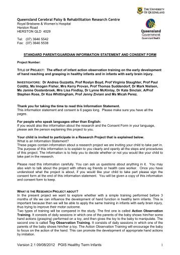Research Consent Form Template. Generic Sample Informed Consent ...