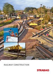 RAILWAY CONSTRUCTION - Strabag AG