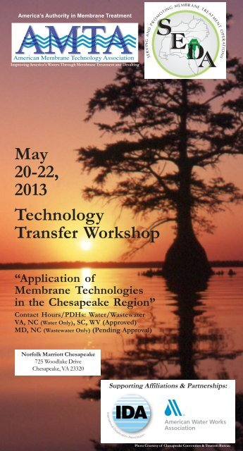 May 20-22 2013 Technology Transfer Workshop
