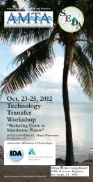 Oct 23-25 2012 Technology Transfer Workshop