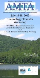 July 16-18 2012 Technology Transfer Workshop
