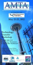 May 21-23 2012 Technology Transfer Workshop