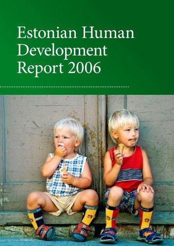 Estonian Human Development Report 2006