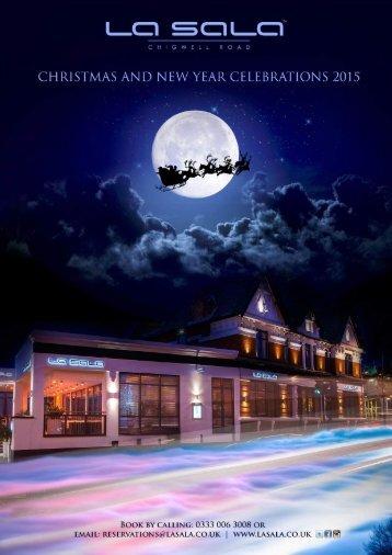 La Sala Chigwell Christmas Brochure 2015