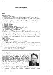 Rundbrief Oktober 2000 Inhaltsverzeichnis 1. Vorwort (1 ...