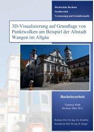 Hochschule Bochum Fachbereich Vermessung und Geoinformatik ...