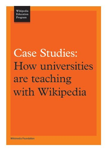 How universities are teaching with Wikipedia