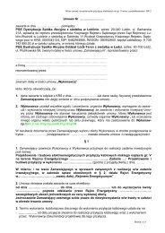 zawarcia Umowy Wykonawcy./pkt