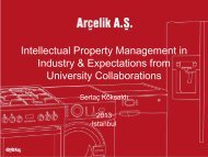 Intellectual Property Management in Industry & Expectations from ...