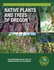 NATIVE PLANTS AND TREES OF OREGON