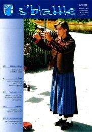 Juli 2001 - Umhausen