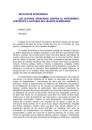 Los últimos atentados contra el patrimonio histórico y cultural del ...
