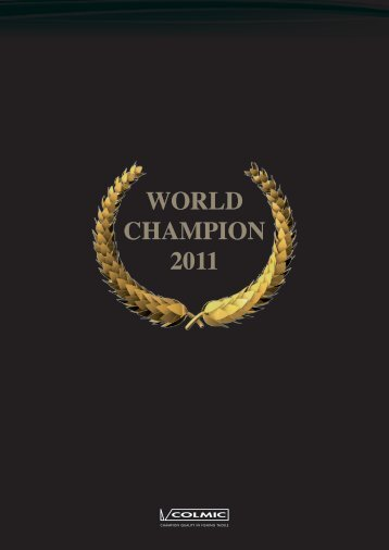WORLD CHAMPION 2011 - Colmic