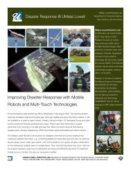 Improving Disaster Response with Mobile Robots and Multi ... - HCI